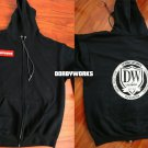 Dorbyworks Full zip hoodie size m-xl - free shipping