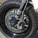 Honda Ruckus Dorbyworks LOW RACING BRAKE PACKAGE BLACK kit