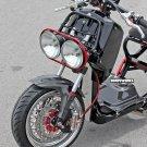 Honda Ruckus Dorbyworks LOW RACING BRAKE PACKAGE CHROME