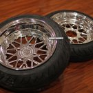 "Honda Ruckus wheels ruckus rims CARVING EDITION MESH LOVE  12X4 "" FRONT / 13X5 "" REAR - no tires"