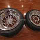 "Honda Ruckus wheels ruckus CARVING EDITION MESH LOVE  12X4 ""/ 13X5 "" tires included mounted"