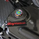 Honda Ruckus Billet GAS cap keyless - NEO CHROME