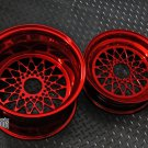 """MESH R ""  super staggered setup 12 front / 13 rear WHEELS HONDA RUCKUS - Candy red"