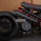 Dorbyworks Honda Ruckus Overhead GY6 Black CERAMIC COATED M4 COMPLETE exhaust system