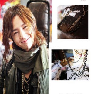Korean TV Mary Stayed Out All Night - Kpop Jang Keun Suk Vintage Multi-layer Necklace