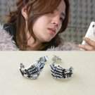 Korean TV Mary Stayed Out Alll Night - Kpop Jang Keun-Suk Vintage Skeleton Hand Earring