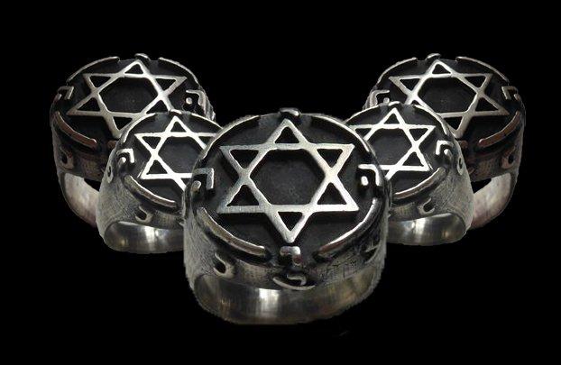 King Solomon Signet Ring Mystic Masonic, Secret Seal ...