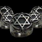 King Solomon Signet Ring Mystic Masonic, Secret Seal, Kabbalah Sterling Silver .925 Mens 5