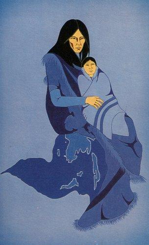 Prayer Card - Madonna Child - LIMITED QUANTITIES