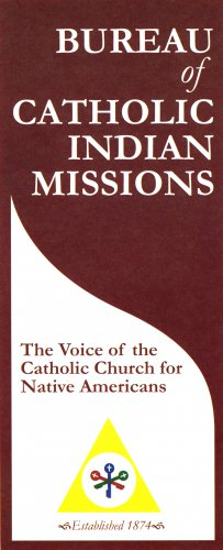 Brochure of The Voice of the Catholic Church for Native Americans - LIMITED QUANTITIES