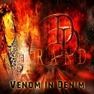 Venom In Denim by DD Rand USB Wristband