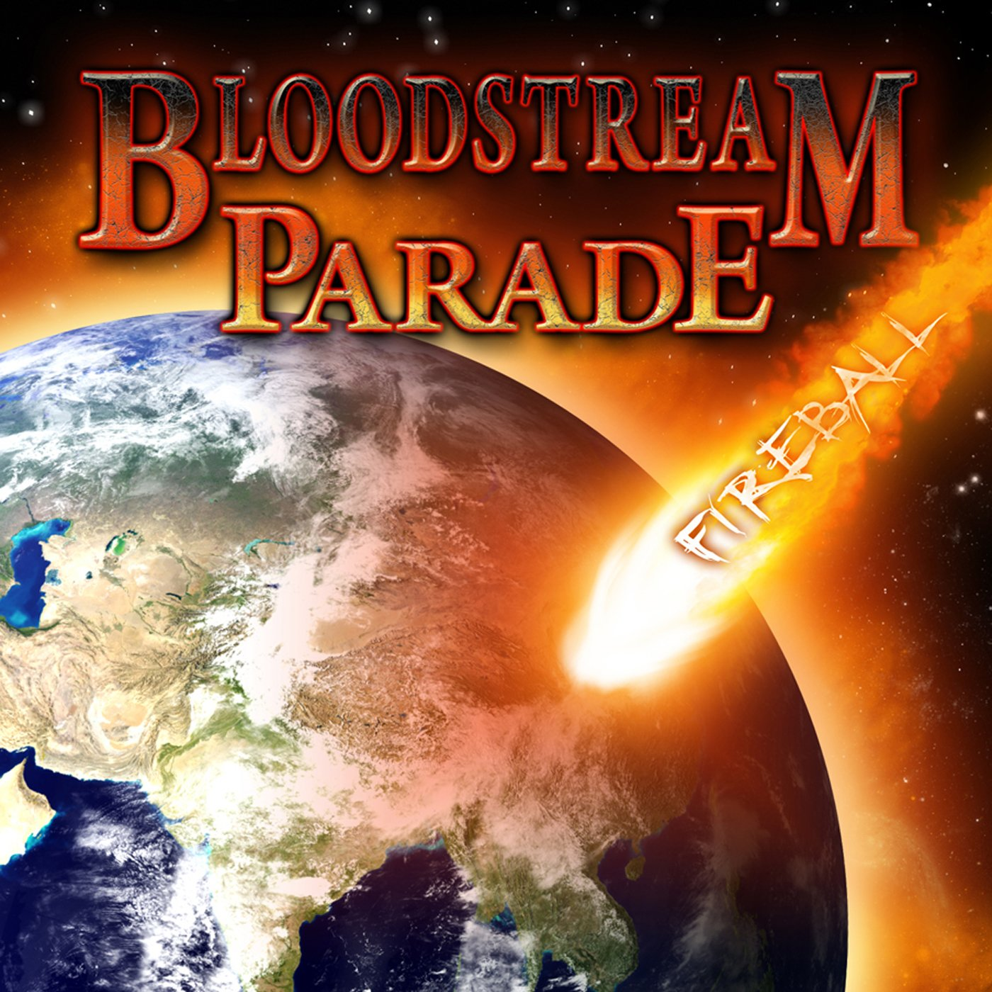 Fireball by Bloodstream Parade USB Wristband