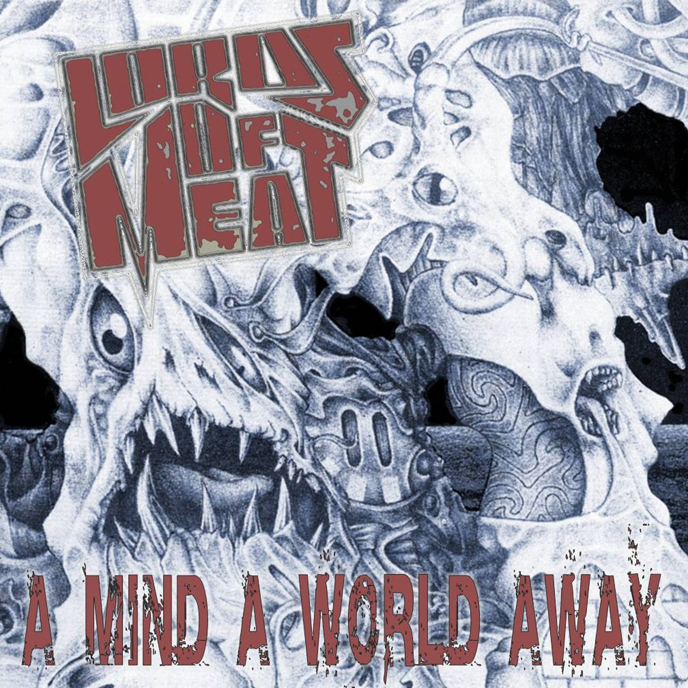 A Mind A World Away by Lords of Meat USB Wristband