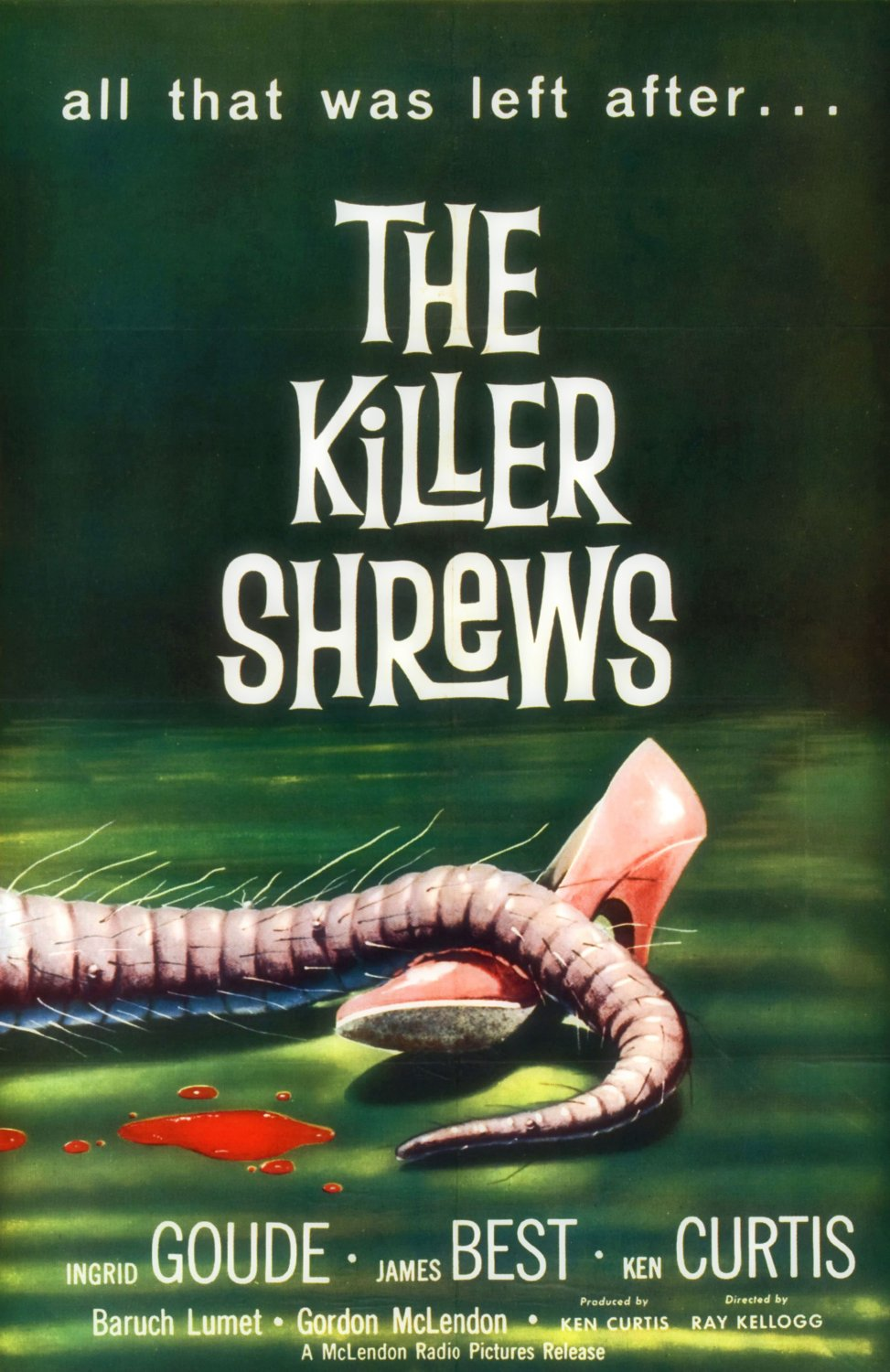 The Killer Shrews (USB) Flash Drive