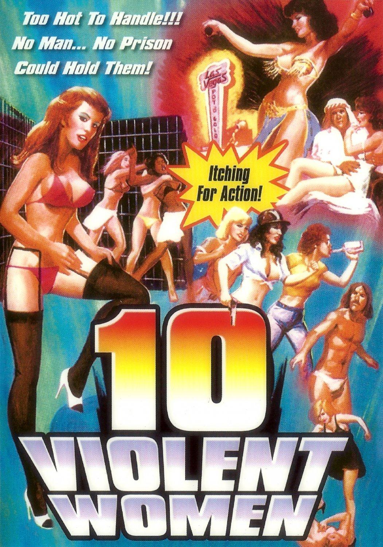 Ten Violent Women (USB) Flash Drive