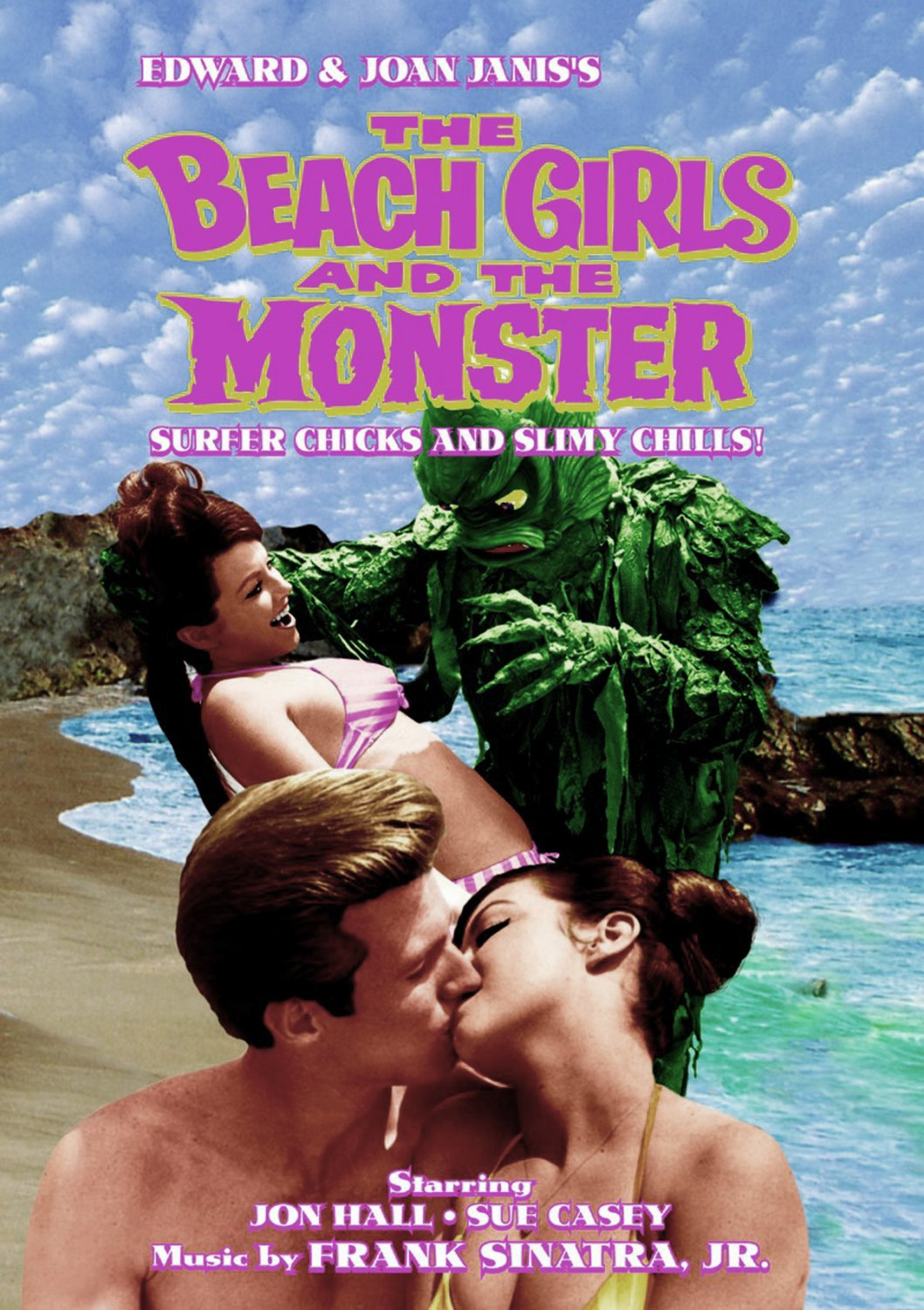 The Beach Girls and the Monster (DVD)