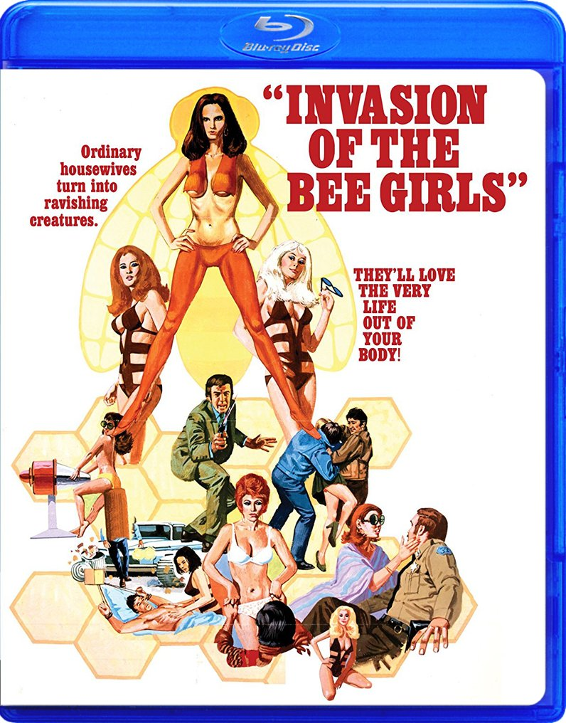 Invasion of the Bee Girls (Blu-ray)