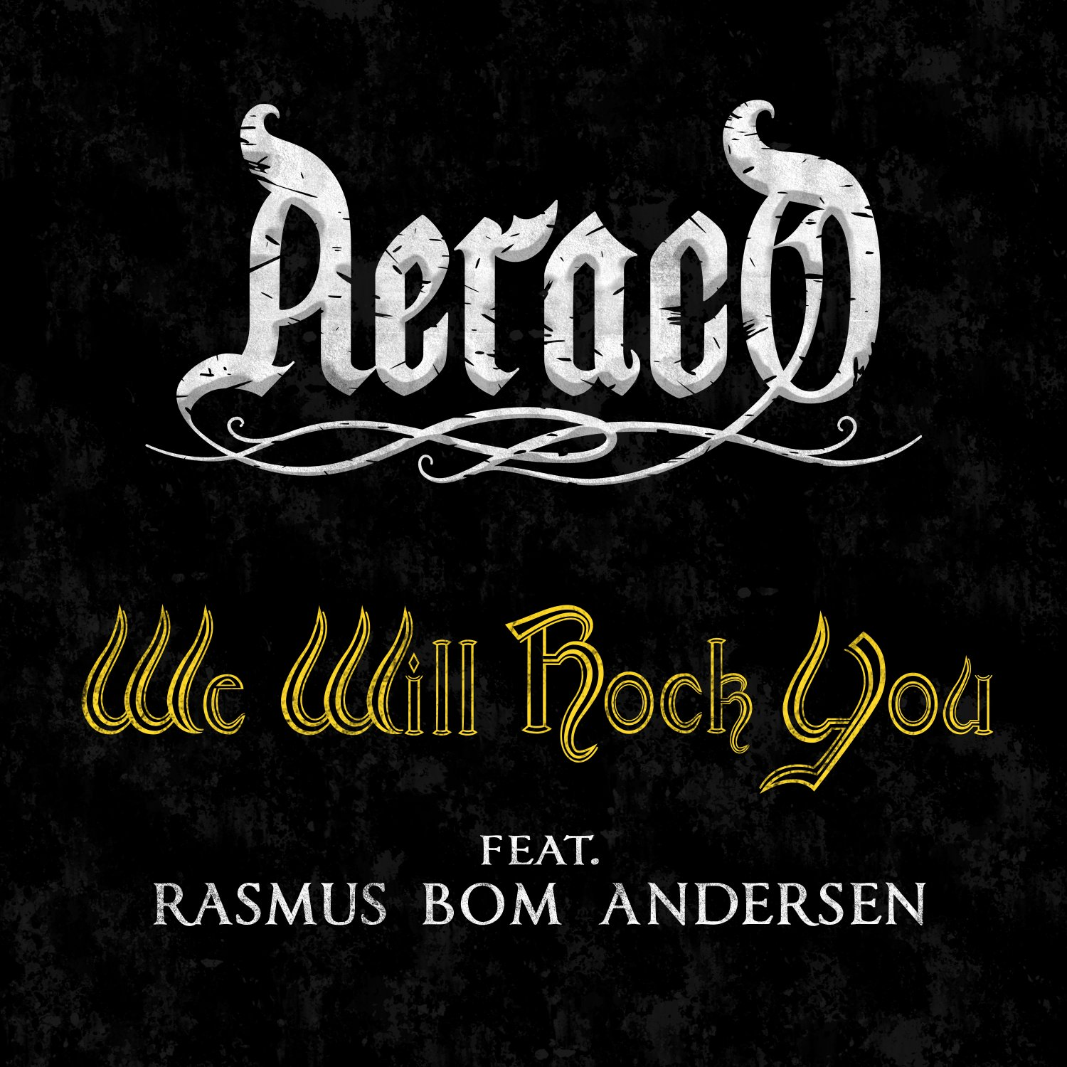We Will Rock You by Aeraco USB Wristband