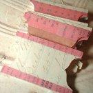 Pink Ledger Tabs - 15