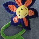 "Animal Alley Bendy Stem Smiley Flower Stuffed Plush 24"""