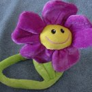 Calplush Bendy Stem Smiley Flower Stuffed Plush 18""
