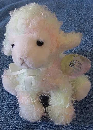 Plushland Lambchop Lamb Sheep Tie Dye Beanie Plush