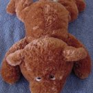 "Target Brown Floppy Bear Beanie Stuffed Plush 10"""