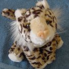 Circus Circus Spotted Wild Cat Leopard Stuffed Plush 7""