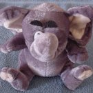 Kuddle Me Toys Gray Elephant Kellytoy Stuffed Plush 6""