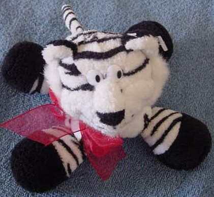 Preferred Plush White Tiger Chubby Feet Stuffed Plush