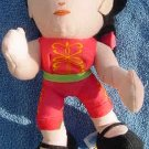 Virtua Fighter 2 Pai Girl Plush UFO Catcher Doll Tag