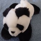 "Aurora Panda Bear Beanie Stuffed Plush 7"" Soft Laying"