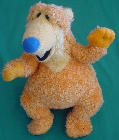 "Orange Bear in Big Blue House Stuffed Plush 7"" Applause"