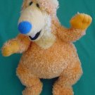 "Orange Bear in Big Blue House Stuffed Plush 7"" Applause"
