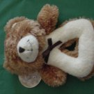 Stephan Enterprises Baby Bear Rattle Stuffed Plush NWT