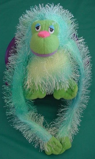"Velcro Hands Goofy Ape People Pals Stuffed Plush 5"""