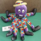 The Wiggles Henry Octopus Beanie Stuffed Plush 8""