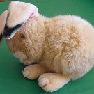 "Wal-Mart Long Bendy Ears Bunny Stuffed Plush 5"" Brown"