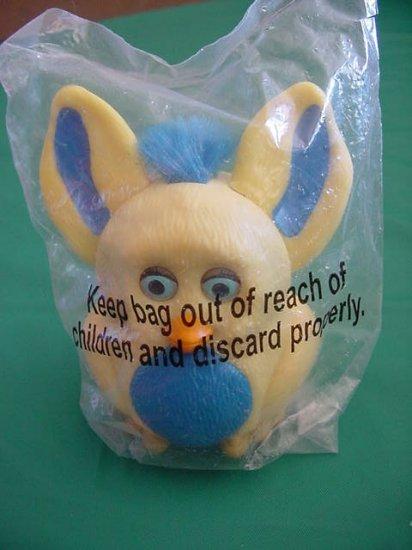 Burger King Furby Eyes Ears Move Yellow & Blue MIP