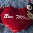 JT Toys Bee Mine Heart Ladybugs Stuffed Plush 12""
