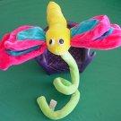 "Six Flags Bendy Stem Dragonfly Stuffed Plush 8"""