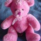 "Target Pink  Soft Bear Valentine's Beanie Stuffed Plush 6.5"""