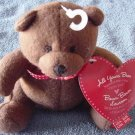 Hallmark All Yours Bear Brown I Love You Stuffed Plush Tag