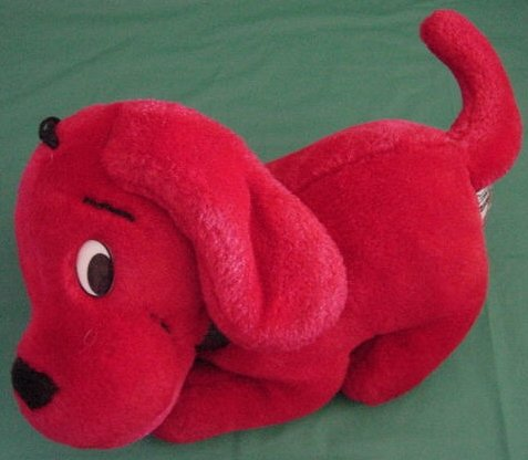 "Clifford Big Red Dog Stuffed Plush 8"" Side Kicks"