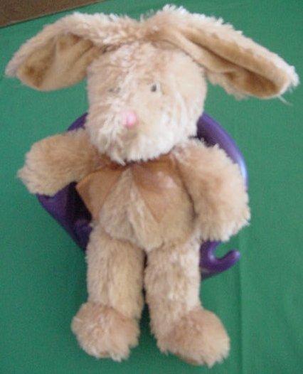 "Galerie Light Brown Shaggy Dove Chocolate Bunny Stuffed Plush 9"""