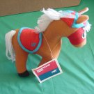 "Hollywood Park Holly Race Horse 1977 Stuffed Plush 8"" Vintage"