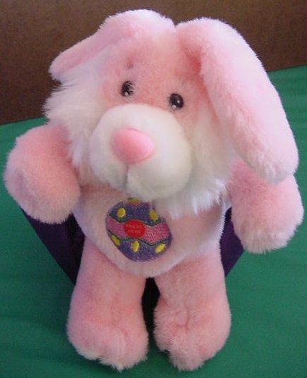 "Preferred Plush Funny Bunny Easter Stuffed Talks 8"""