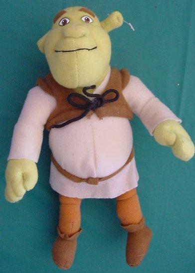 "Shrek 2 Shrek Ogre Doll Nanco Stuffed Plush 9"""