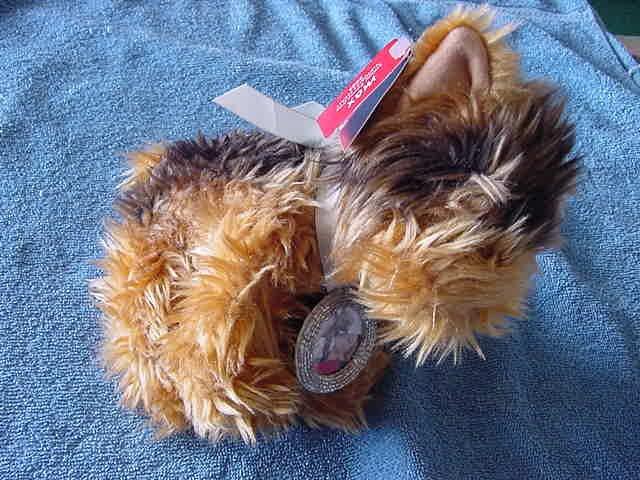 Victoria's Secret Max Picture Frame Dog Stuffed Plush