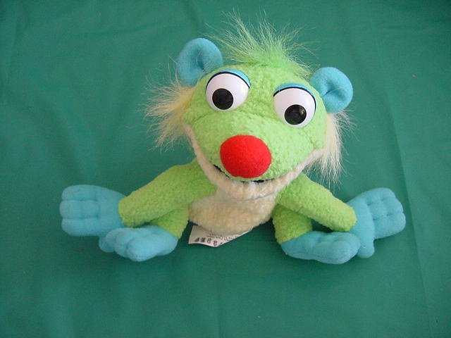 "Bear in Big Blue House Treelo Lemur Beanie Plush 5.5"""
